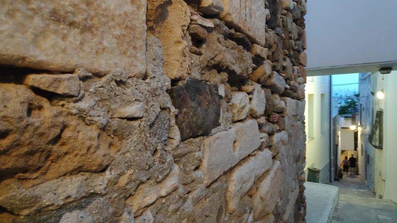 Τείχη στη Νάξο