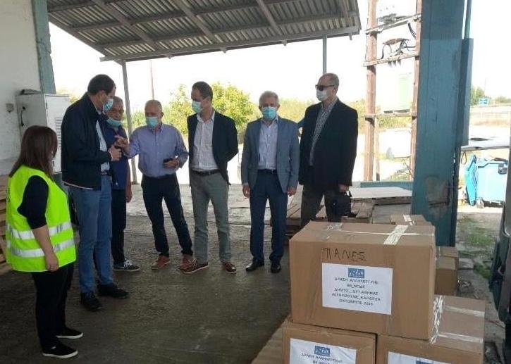 Η Νέα Δημοκρατία ξανά στην Καρδίτσα, δίπλα στους πληγέντες του Ιανού
