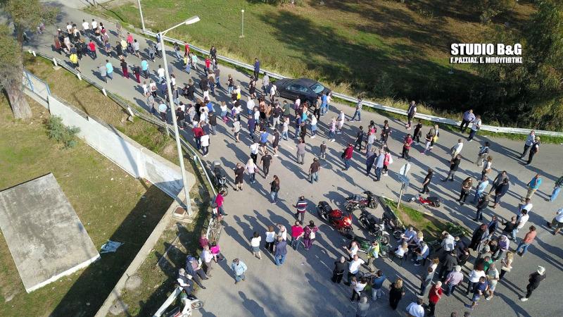 Διαμαρτυρία κατοίκων στη Νέα Κίο