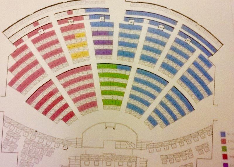 Ο χάρτης της νέας Βουλής