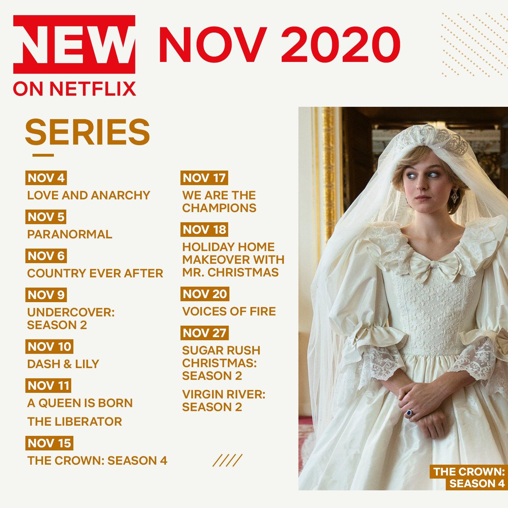 Όλες οι νέες σειρές του Netflix που θα δούμε τον Νοέμβριο