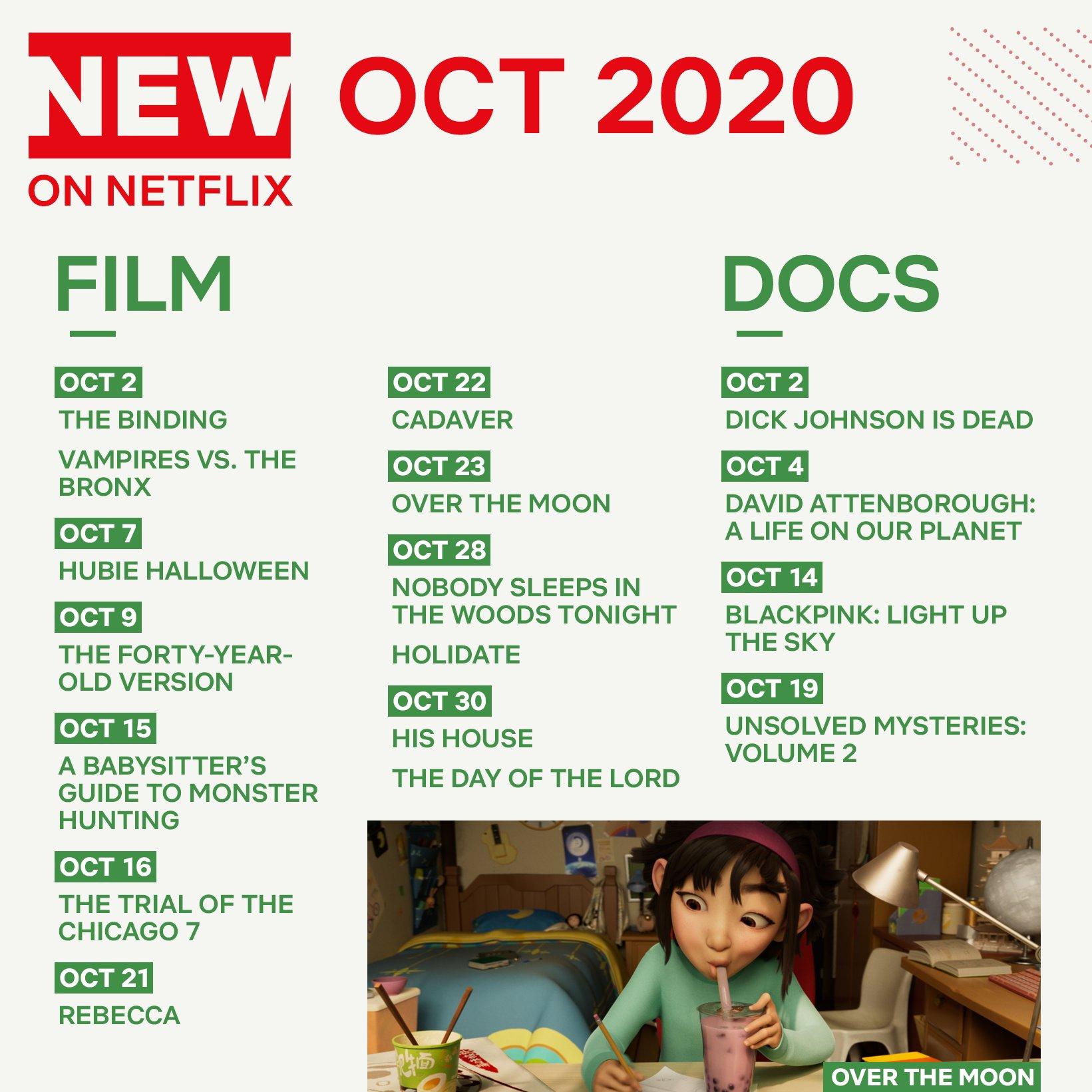 Οι ταινίες που έρχονται στο Netflix τον Οκτώβρη