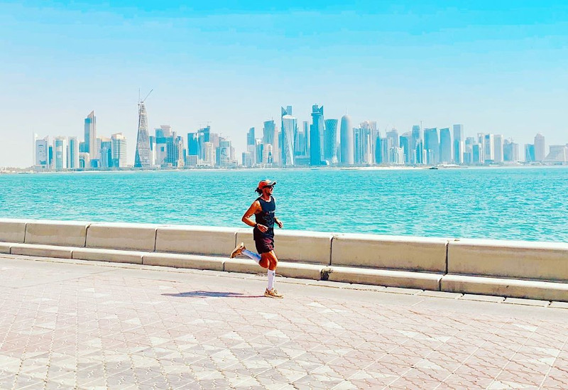 Ο Νικ Μπάτερ στη Ντόχα