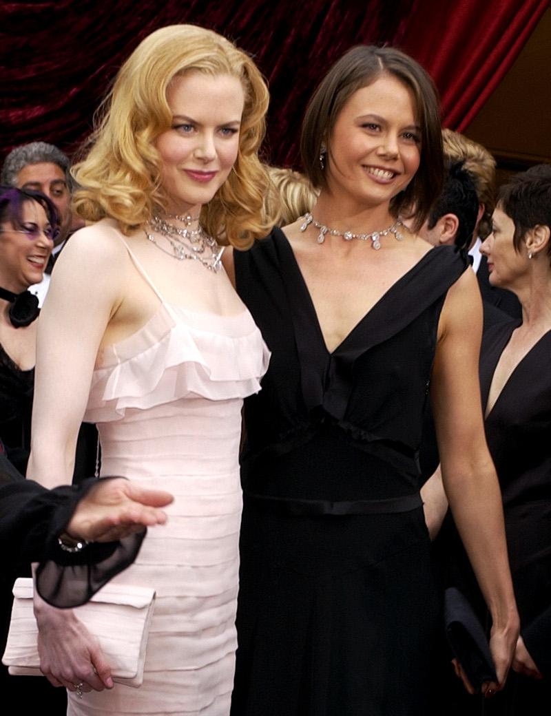 Η Νικόλ Κίντμαν με την αδερφή της Αντωνία