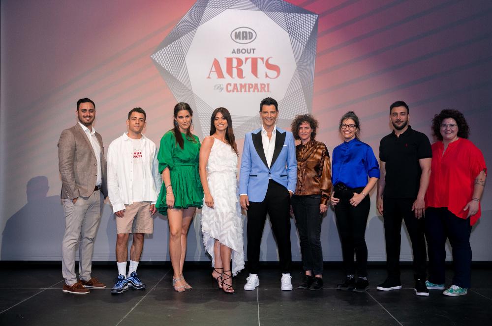 Οι νικητές του διαγωνισμού Mad About Arts by Campari