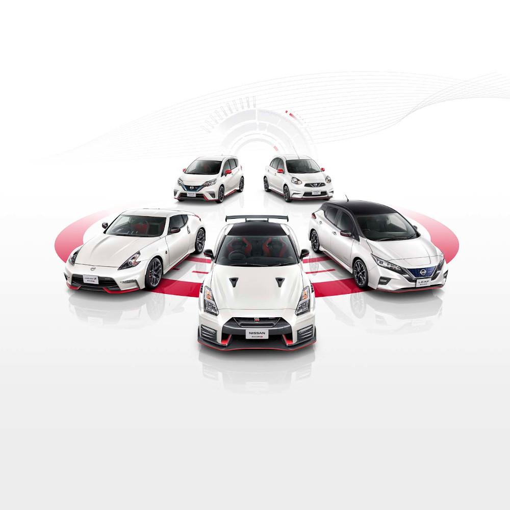 Ειδική έκθεση για μοντέλα NISMO από τη Nissan