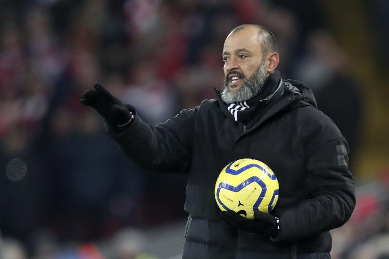 Ο προπονητής της Γουλβς, Νούνο Εσπίριτο Σάντο