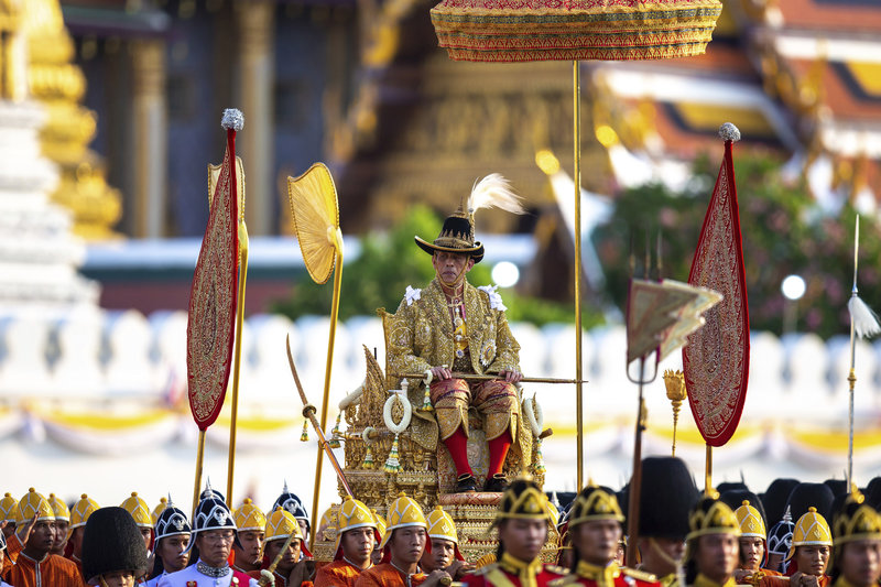 Ο βασιλιάς Μάχα Βατζιραλόνγκορν της Ταϊλάνδης