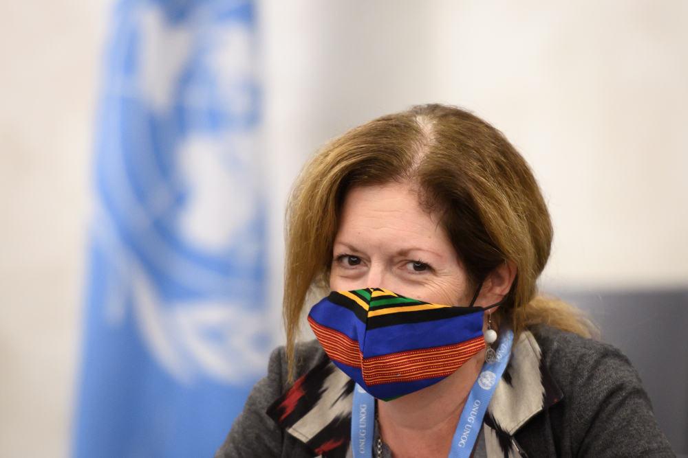 Η Στέφανι Ουίλιαμς, η οποία ασκεί χρέη απεσταλμένης του ΟΗΕ στη Λιβύη
