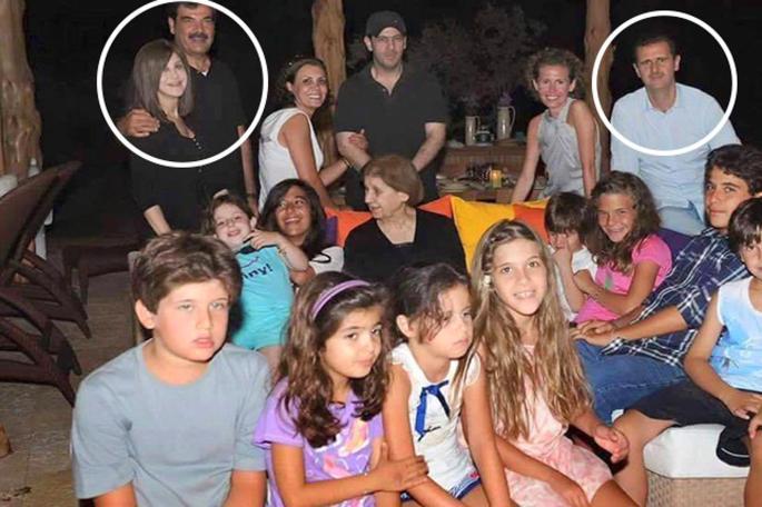 Οικογένεια του Μπασάρ αλ Ασαντ