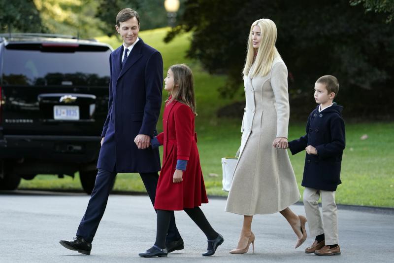 οικογένεια Ιβάνκα Τραμπ