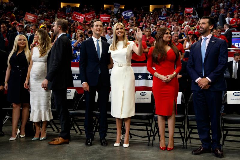 Οικογένεια Τραμπ και η Κίμπερλι Γκιλφόιλ