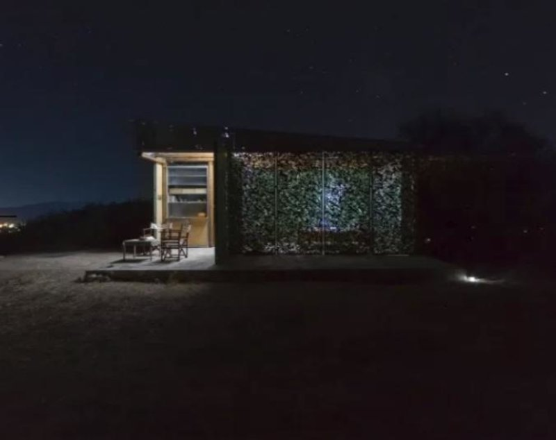 Το Olive House τη νύχτα