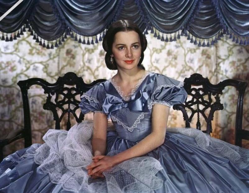 Η ηθοποιός, Ολίβια ντε Χάβιλαντ σε νεαρή ηλικία