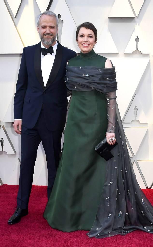 Η Ολίβια Κόλμαν με τον σύζυγό της Εντ Σινκλέρ