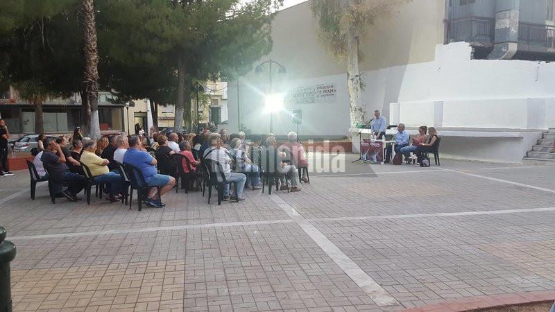 Η ανοιχτή συγκέντρωση του ΣΥΡΙΖΑ στην Αγία Βαρβάρα