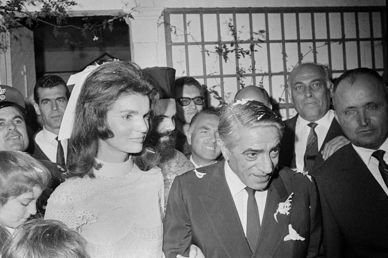 Στις 20 Οκτωβρίου 1968 η Τζάκι Κένεντι παντρεύτηκε τον Αριστοτέλη Ωνάση