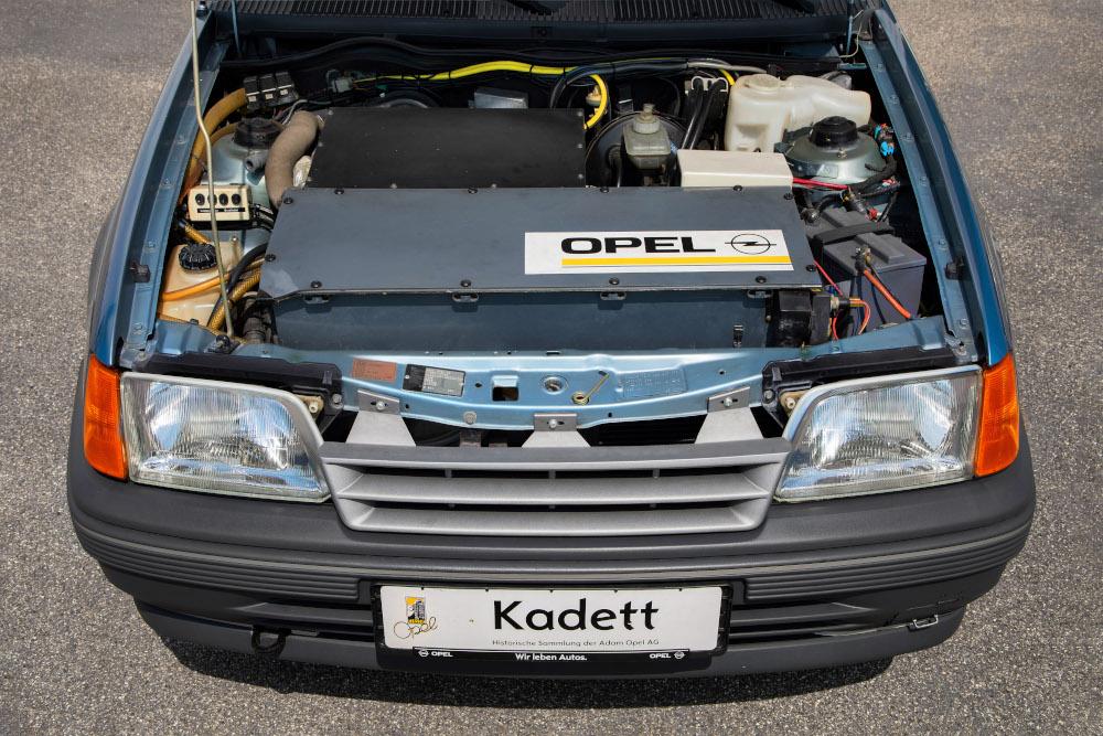 Το Kadett Impuls I είναι ο πρόγονος του ηλεκτρικού Corsa