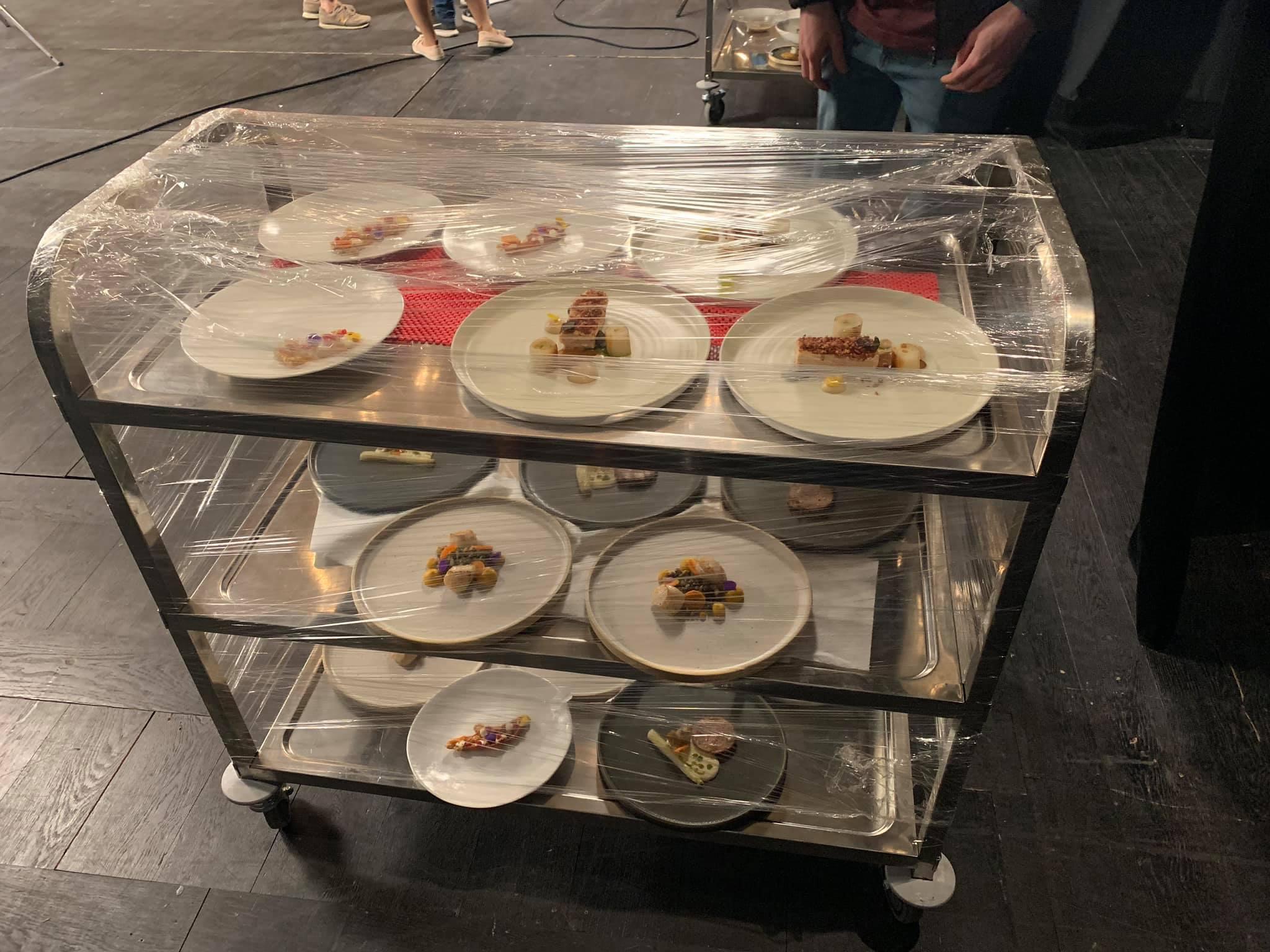 Τα πιάτα των δύο ομάδων του Masterchef 3