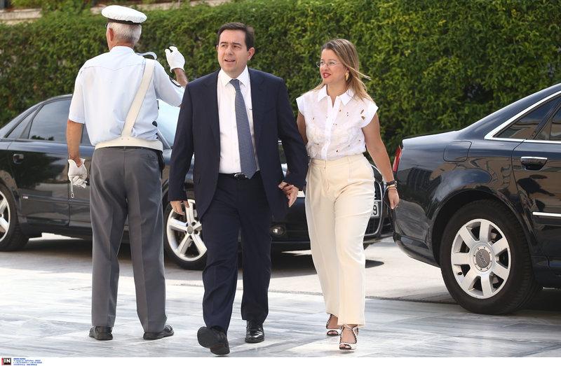 Ο υφυπουργός Εργασίας Νότης Μητταράκης