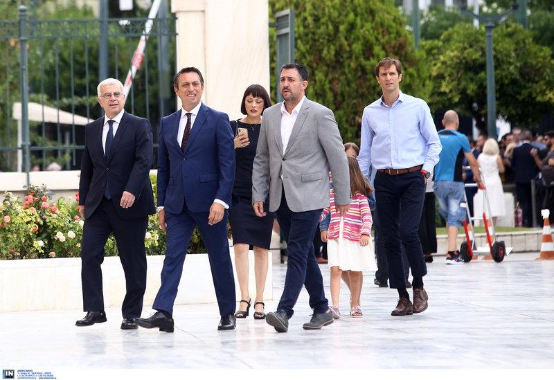 Η βουλευτής του ΚΙΝΑΛ Νάντια Γιαννακοπούλου