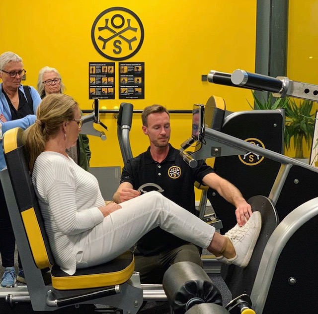 Osteostrong μηχανήματα γυμναστικής
