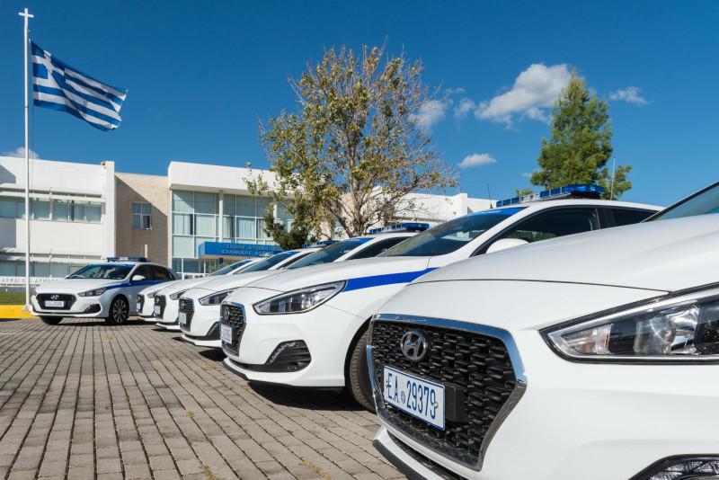 Τα νέα οχήματα που παρέλαβε η ΕΛ.ΑΣ. / Φωτογραφία: astynomia.gr