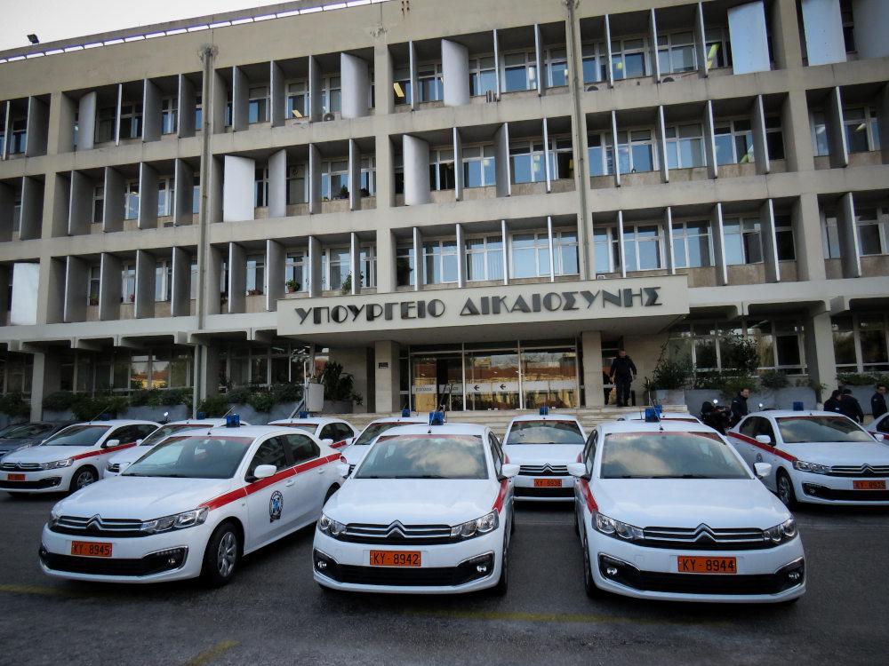 Τα 11 νέα οχήματα που παραδίδονται στο υπουργείο Προστασίας του Πολίτη