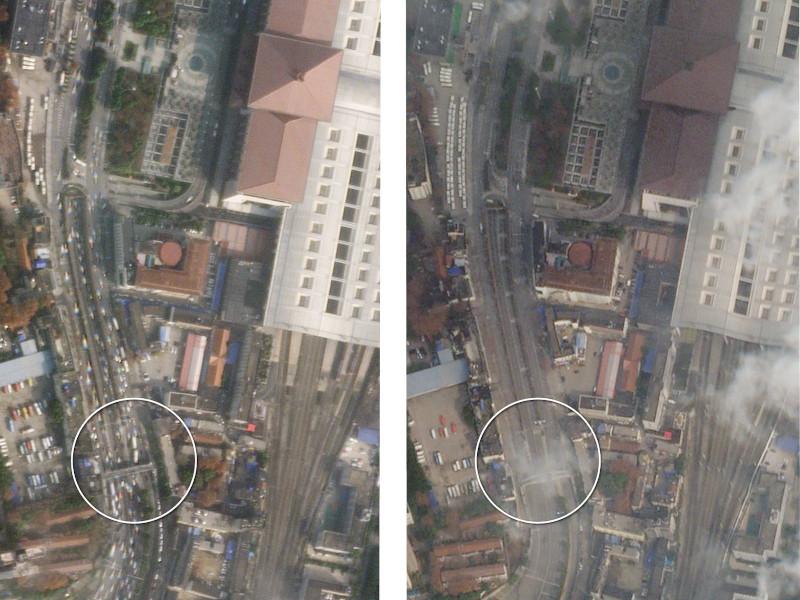 Ερήμωσε η κινεζική πόλη Ουχάν με την επιδημία του κοροναϊού
