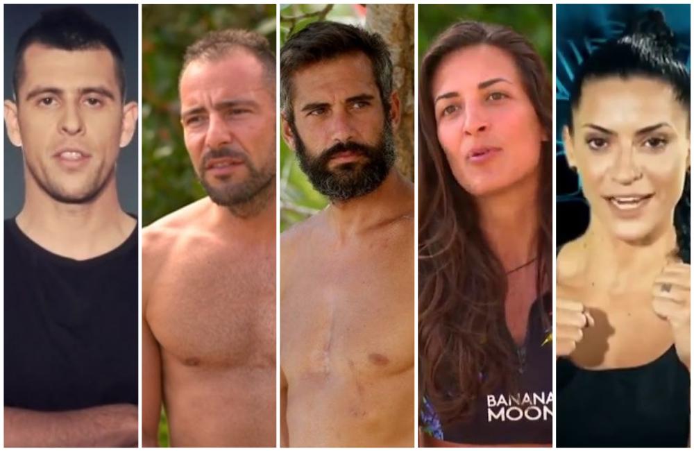Πέντε παίκτες από την ομάδα των Διασήμων και των Μαχητών επιστρέφουν στο Survivor για μια εβδομάδα
