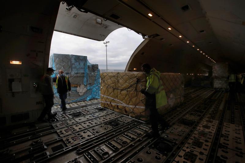 Αεροπλάνο της Air France γεμάτο με φαρμακευτικό υλικό, ενώ η εταιρεία προετοιμάζεται για την μεταφορά εμβολίων για τον κορωνοϊό