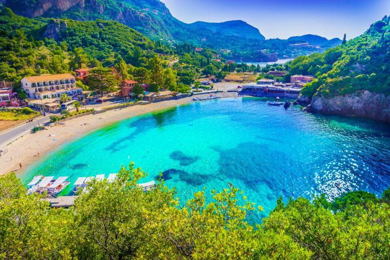 Παραλία Παλαιοκαστρίτσα στην Κέρκυρα