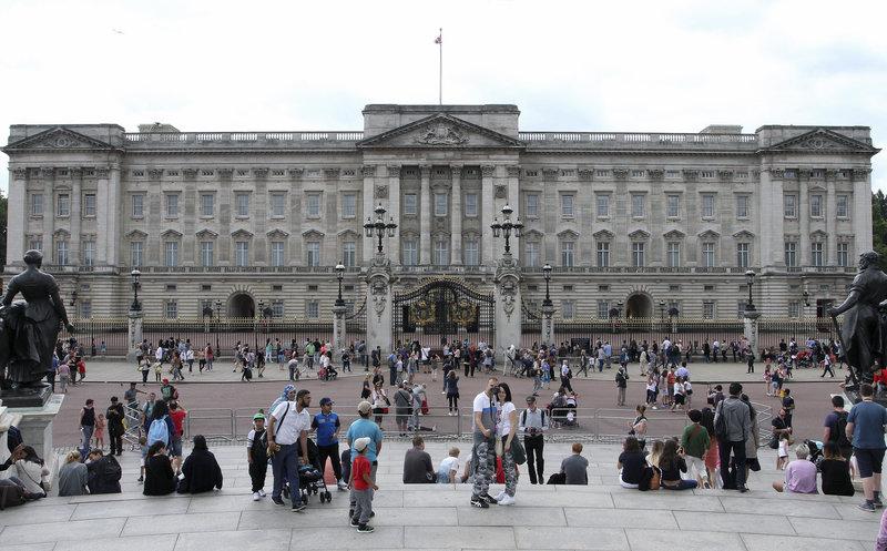 Το Παλάτι του Μπάκιγχαμ έχει χτιστεί το 1703.