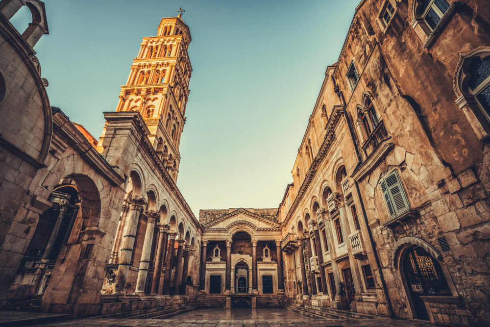 To παλάτι του Ρωμαίου αυτοκράτορα Διοκλητιανού