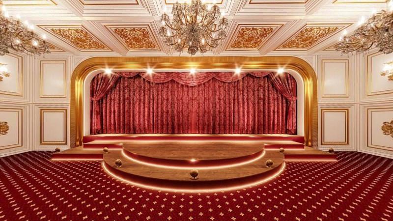 Κάπως έτσι πρέπει να είναι το θέατρο στο παλάτι του Πούτιν