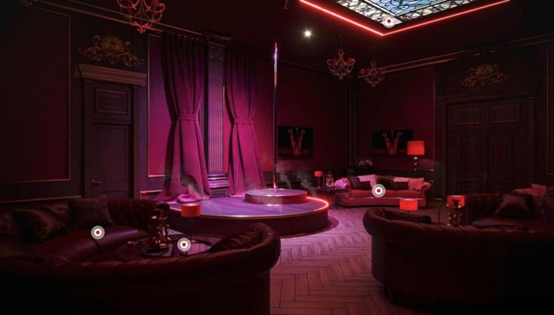 Ακόμη και strip club διαθέτει το παλάτι