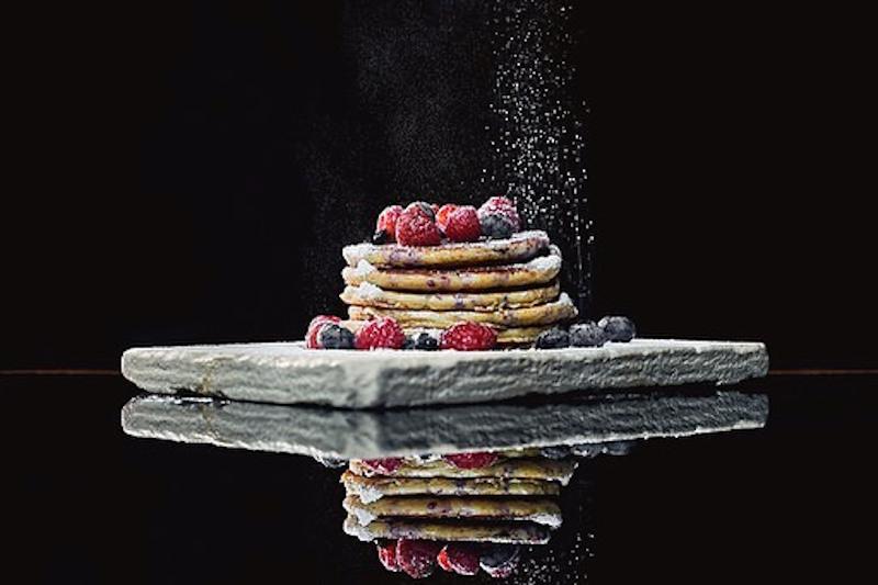 Pancakes με μούρα
