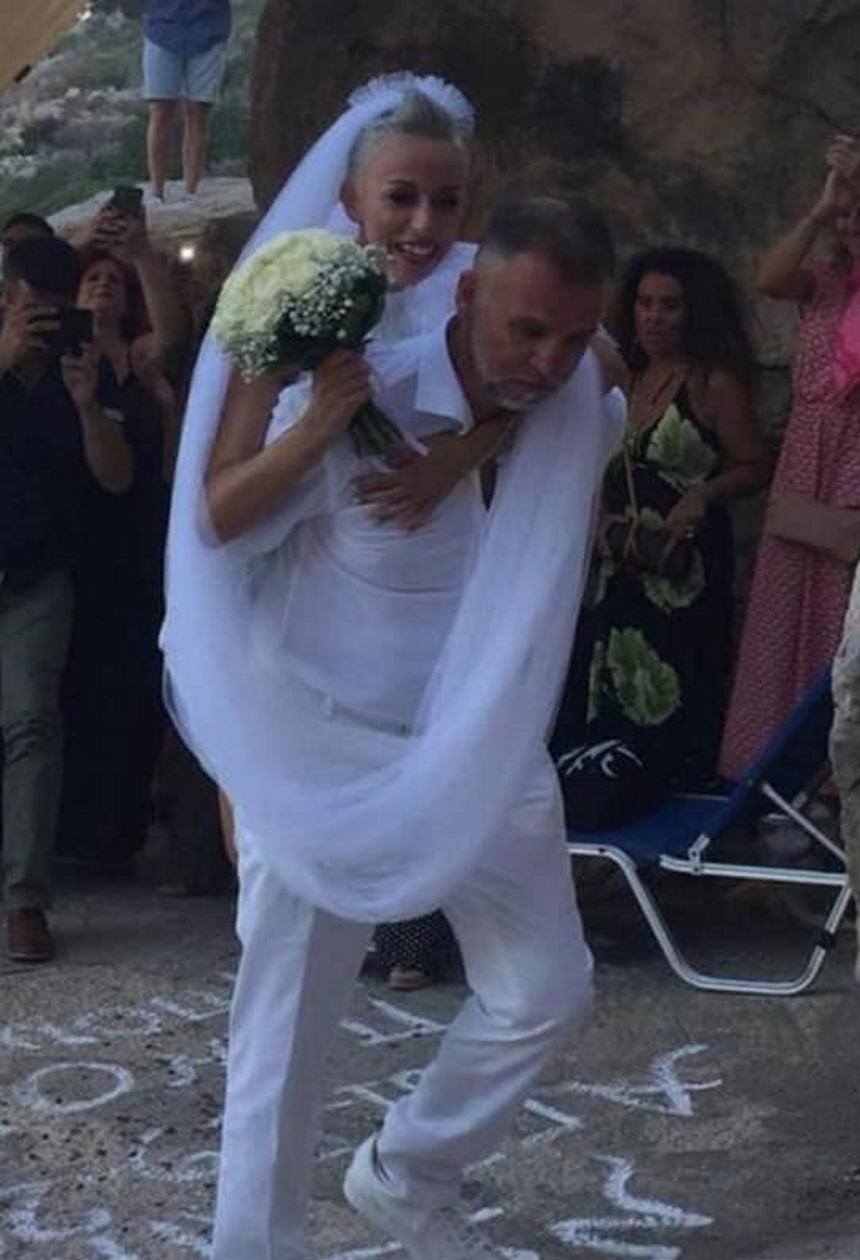 Πάνος Μεταξόπουλος Αγγελική Φατούρου γαμος
