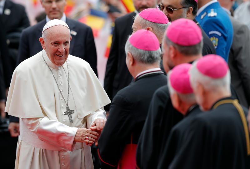Ο Πάπας Φραγκίσκος στην Ρουμανία