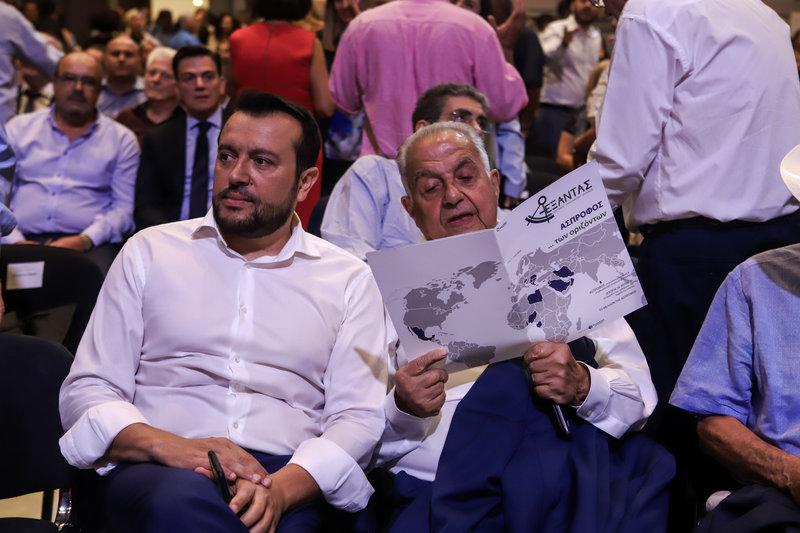 Νίκος Παππάς, Αλέκος Φλαμπουράρης στη ΔΕΘ 2019