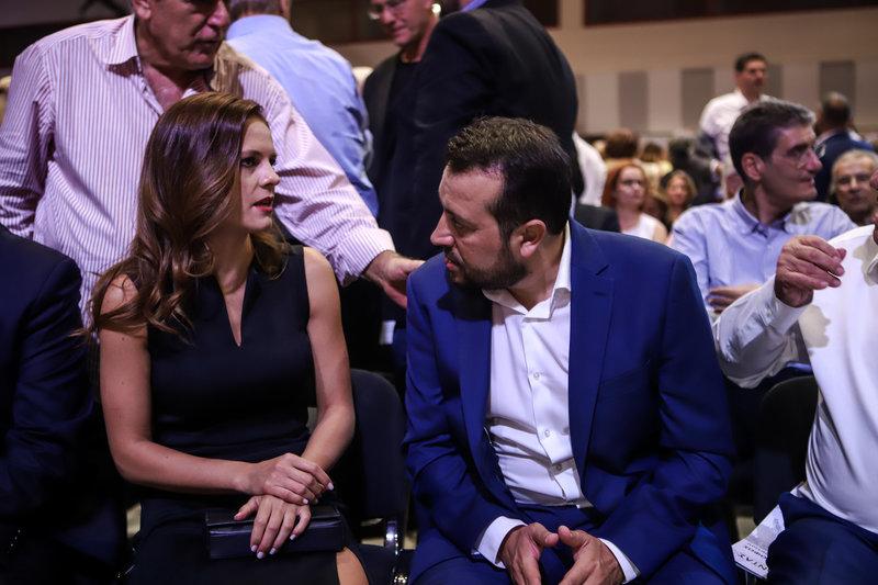 Εφη Αχτσιόγλου Νίκος Παππάς στη ΔΕΘ 2019