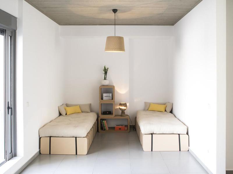 Κρεβάτια από χαρτόνι