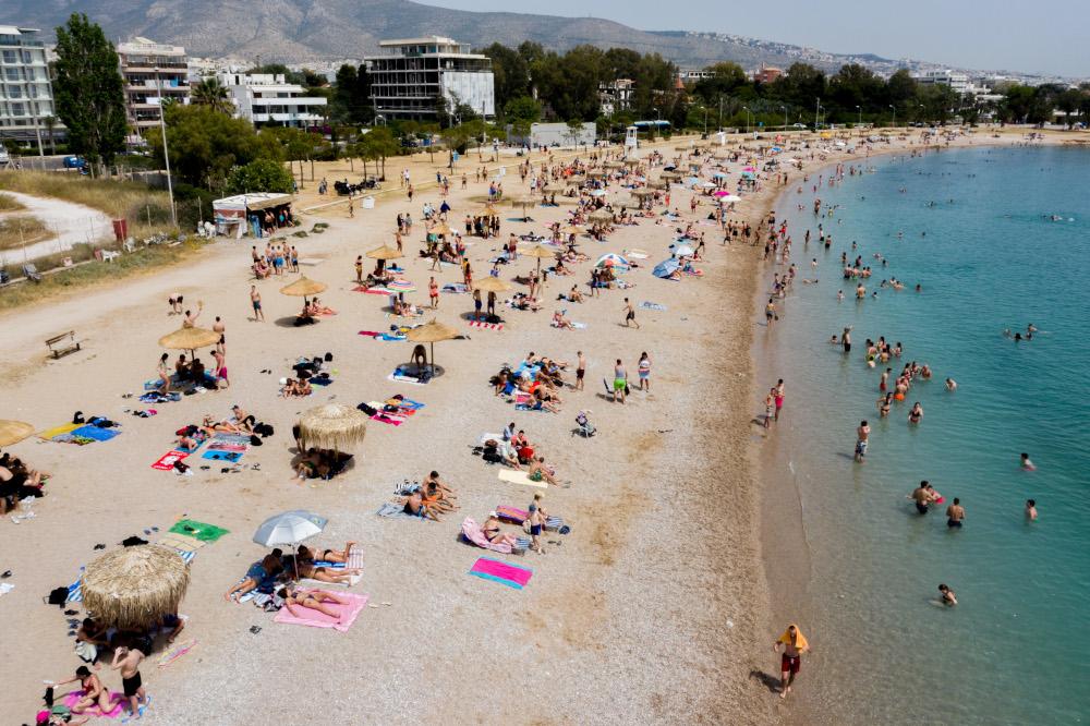 άρση μέτρων οργανωμένη παραλία