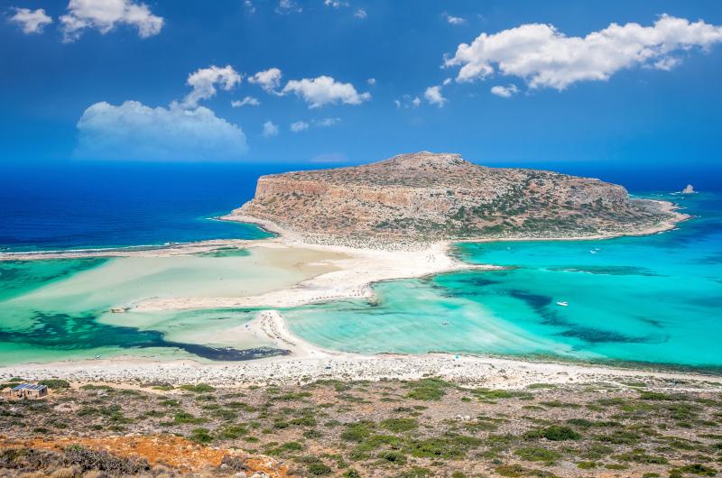 Η παραλία Μπάλος στην Κρήτη