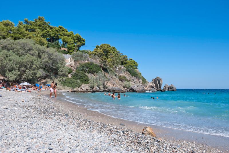 Η παραλία της Ερωτοσπηλιάς