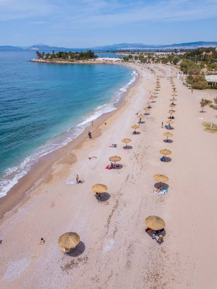 Ετσι είναι πλέον η παραλία της Γλυφάδας