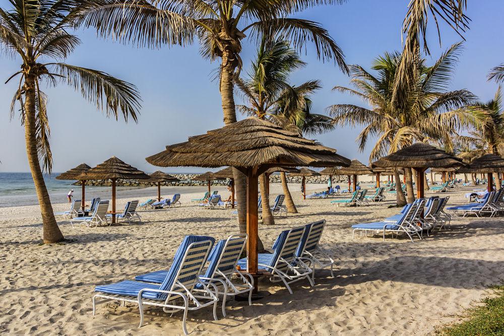 Παραλία στο μικρό εμιράτο Άτζμαν