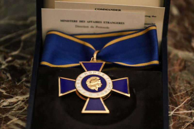 Απονομή του Παρασήμου του Ταξιάρχη του Τάγματος της Τιμής στον κ. Roderick Macleod Beaton