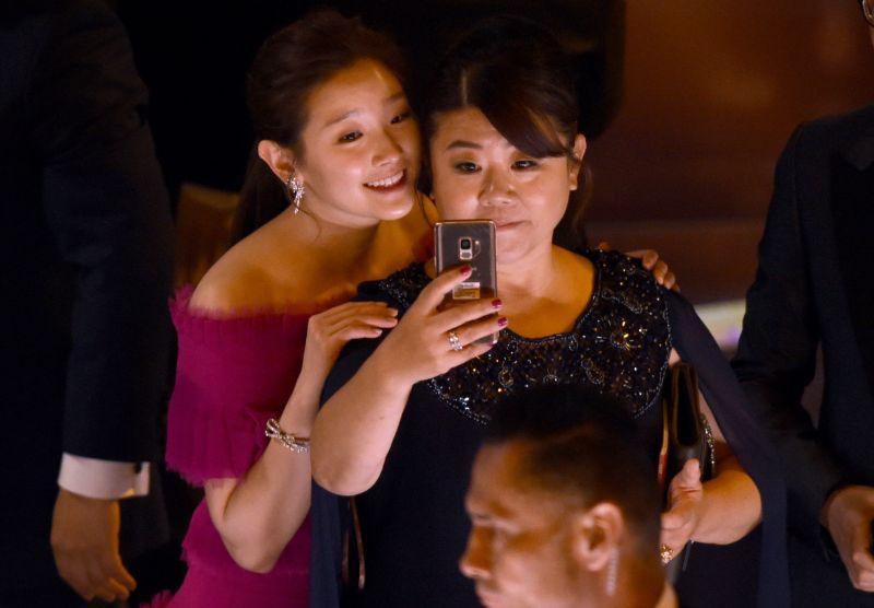Συντελεστές της νοριοκορεάτικης ταινίας την βραδιά των Όσκαρ