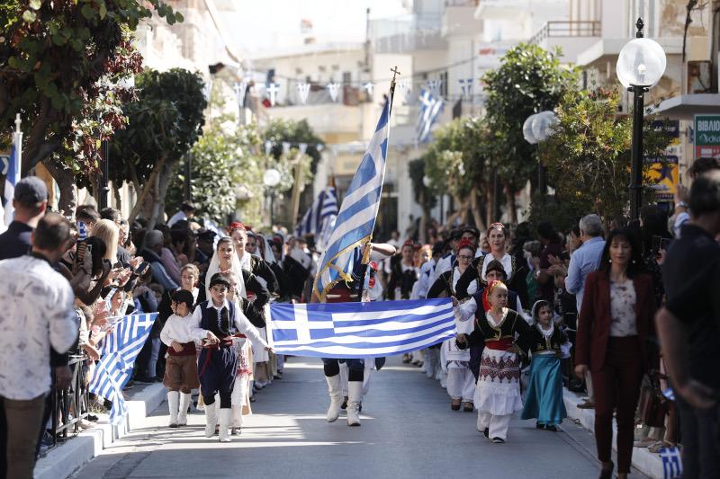Παρέλαση στην Κίσσαμο